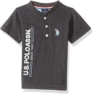 Baby Boy's Short Sleeve Henley T-Shirt Shirt