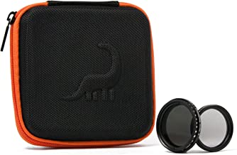 Dyno Filter Kit | 2-400 Variable ND, Circular Polarizer | Includes Smartphone Mounting Clip and Travel Case