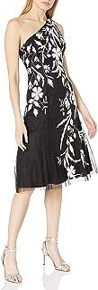 Women's Beaded One Shoulder Dress