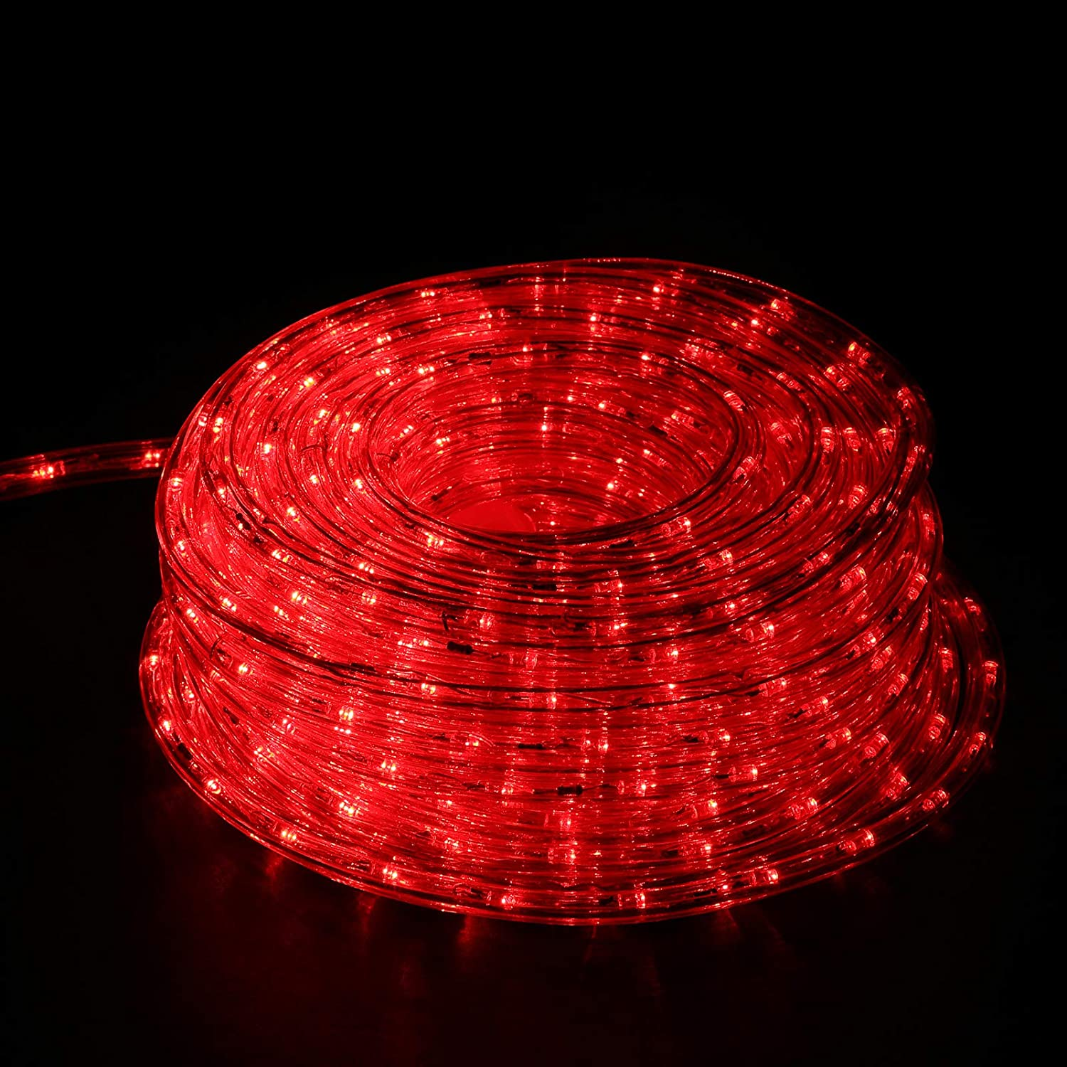 Ainfox LED Rope Cheap sale Light Max 63% OFF 50Ft 540 Indoor Strip Out Lights LEDs
