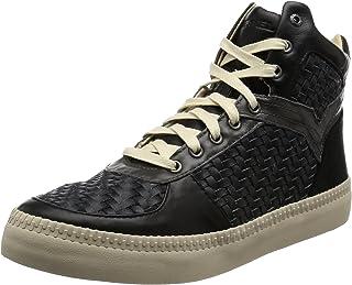Diesel Men's V S-Spaark Mid Woven Fashion Sneaker