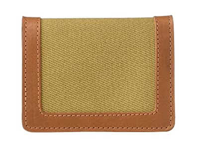 Filson Outfitter Card Wallet (Tan) Wallet Handbags