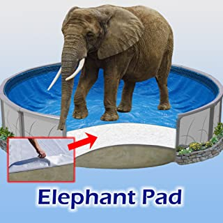 18 ft Round Pool Liner Pad, Elephant Guard Armor Shield Padding