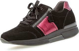 Gabor Rollingsoft Sneakers in grote maten zwart 36.928.87 grote damesschoenen