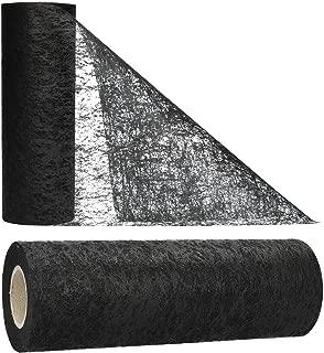Rancheng Classique Moderne Plaid Noir Chemin de Table Longue Nappe Ruban de Table D/écor Maison F/êtes Jardinage Mariage D/écoration de Table