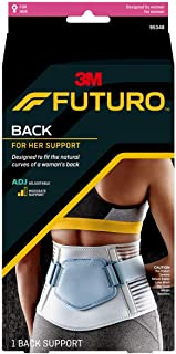 Futuro For Her Slim Silhouette Back Support, Moderate Stabilizing Support, Adjust to Fit