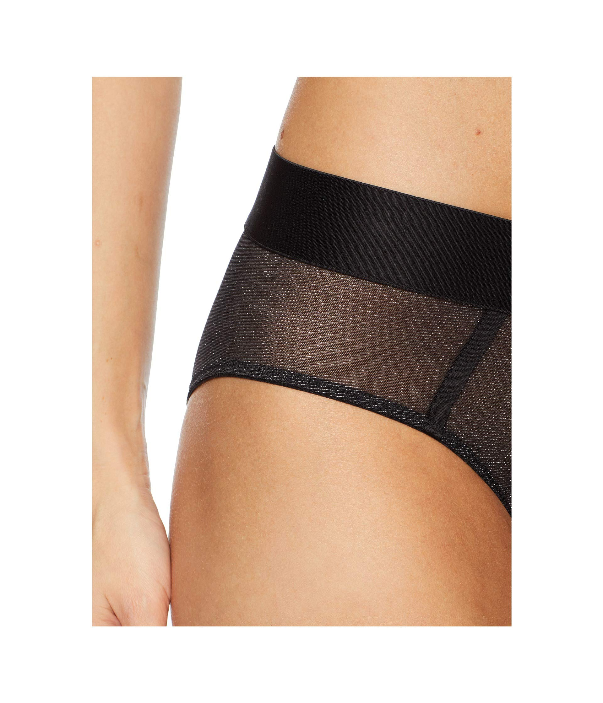 Lurex Sheers Silver Intimates black Hipster Dkny q581IgwxSv
