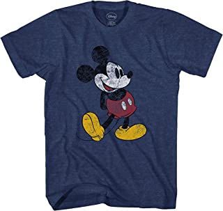 Mickey Mouse Classic Distressed Standing T-Shirt
