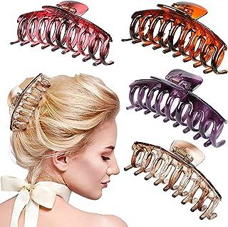 Big Scrub Matte Hair Clip Große Haarnadel Frauen Mädchen Haarspange Hair Gr Z0K6