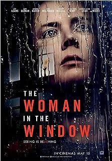 Kvinnan i fönstret Het filmomslag affisch Kanvastryck Wall Art målning för vardagsrum heminredning gåva -50x75cm Ingen ram