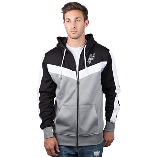 3a086c1affc UNK NBA Men s Full Zip Hoodie Sweatshirt Back Cut Jacket