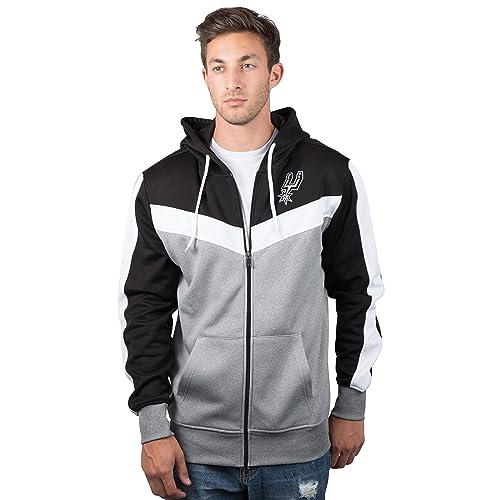 3a086c1affc UNK NBA Men s Full Zip Hoodie Sweatshirt Back Cut Jacket