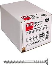 TOX Afstelschroef afstand verzinkt, 6 x 60 mm, 100 stuks, 09010102