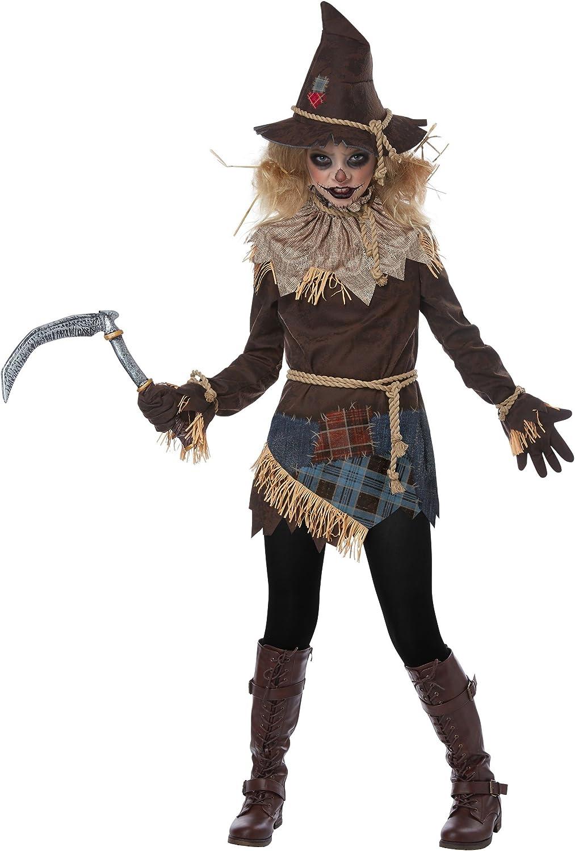 Girls Creepy Scarecrow Costume Columbus Mall High quality new