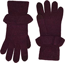 Ruffle Knit Tech Gloves