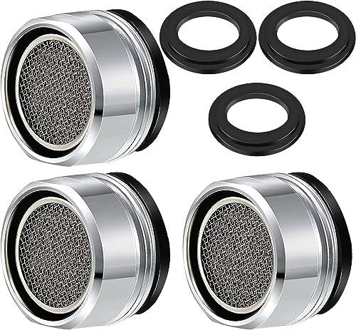 VABNEER 3 pièces Filtre à robinet d'économie d'eau accessoires robinet Diffuseur Filtre de Robinet avec joint d'étanc...