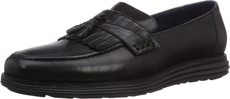 Chung -Shi Sensomo III Loafer - Mens Slip-on-Timeless Elegance Superior Comfort, fl. Black