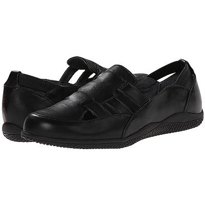 SoftWalk Hampton (Black Soft Kid Leather) Women