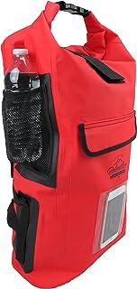 Relentless Recreation Dry Bag Backpack | 30L Waterproof - 500D PVC Tarpaulin | Splash Proof Cell Phone Pocket | Rolltop Dr...