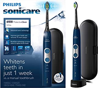 Philips Sonicare Protective Clean 6100 Whitening Rechargeable Electric Toothbrush