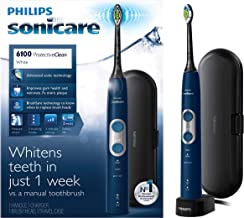 Philips Sonicare ProtectiveClean 6100 Rechargeable Electric Toothbrush, Navy HX6871/49