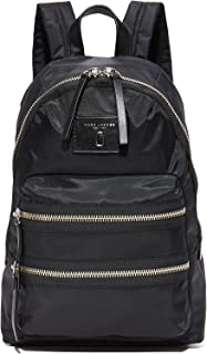 Marc Jacobs Women's Nylon Biker Backpack, Black, One Size