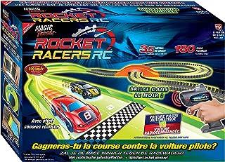 MAGIC TRACKS Rocket Racers - Le Nouveau Circuit pour créer Une compétition Face à Une Voiture Pilote - Vu à la Télé