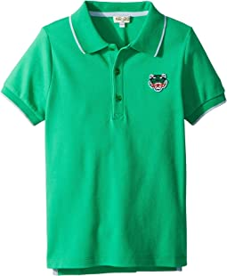 Kenzo Kids - Polo Tiger Logo (Big Kids)