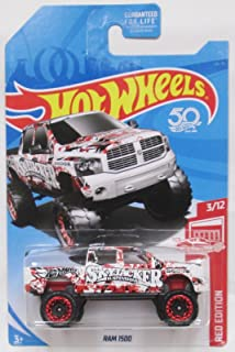 Hot Wheels 2018 Target Exclusive Red Edition 3/12 - Dodge Ram 1500