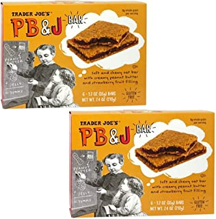 Trader Joe's Gluten Free PB&J Bars (Pack of 2)