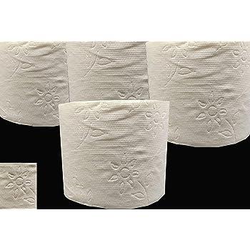 WC Papier Klopapier PREMIUMQUALITÄT WEISS 2 lagig Toilettenpapier