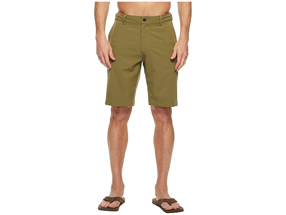 The North Face Rolling Sun Hybrid Shorts 10 (Burnt Olive Green) Men