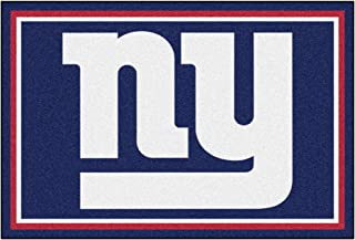 FANMATS NFL New York Giants Nylon Face 5X8 Plush Rug