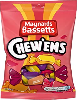Maynards Bassetts Chew'ems Sweets Bag, 404 g