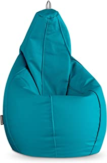 comprar comparacion HAPPERS Puff Pera Polipiel Indoor Turquesa XXL