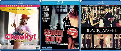 Master Tinto Brass Blu-ray Bundle 3-Movie Collection - Cheeky (Special Edition), Salon Kitty (Director's Cut) & Black Angle