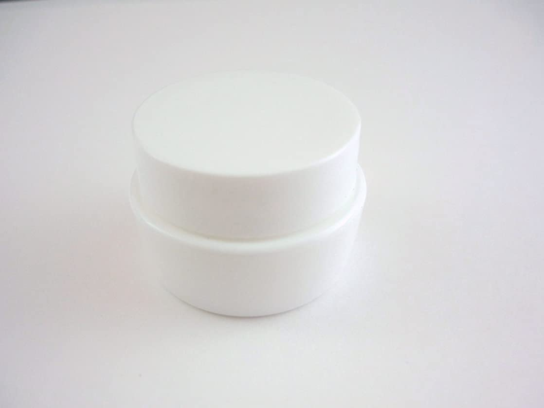 争う異なる紳士気取りの、きざなジェル空容器 3ml   ホワイト 10個セット