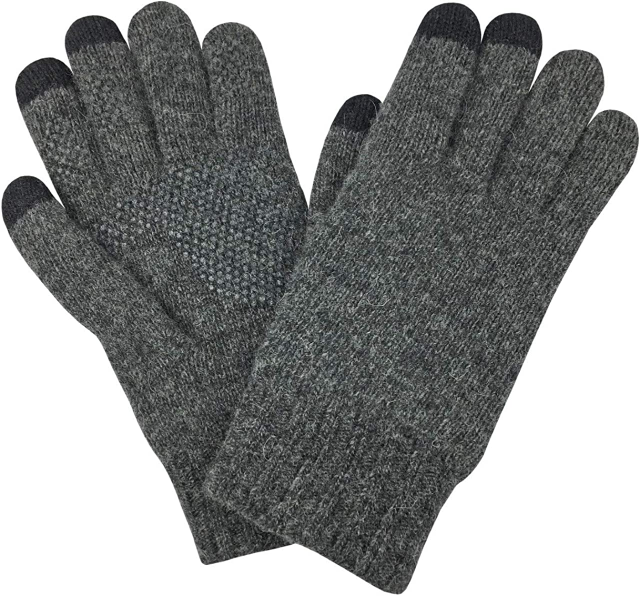 N'Ice Caps Men's & Women's Merino Wool Touchscreen Winter Gloves
