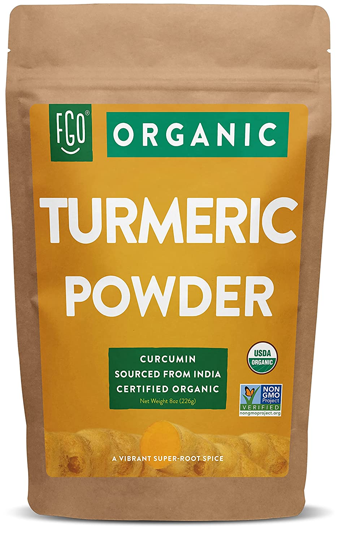 Organic Turmeric low-pricing Root Powder w Curcumin half for Lab Tested Purity