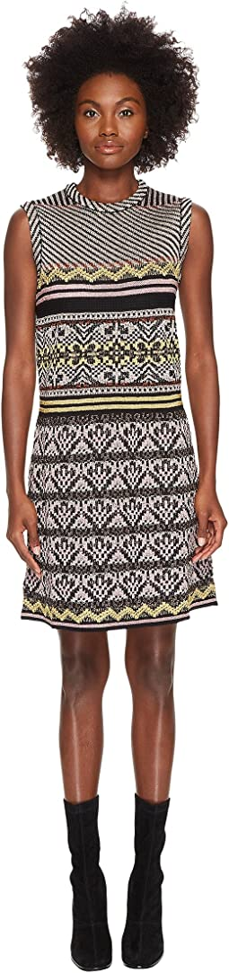 M Missoni - Lurex Ribbon Knit Dress