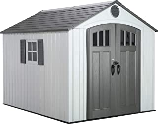 lowes resin storage sheds