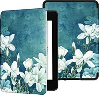 Ayotu Water-Safe Case for Kindle Paperwhite 2018 - PU Leather Smart Cover with Auto Wake/Sleep - Fits Amazon The Latest Kindle Paperwhite Leather Cover (10th Generation-2018),K10 The Denudata