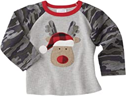 Mud Pie - Camo Reindeer Long Sleeve Shirt (Infant/Toddler)