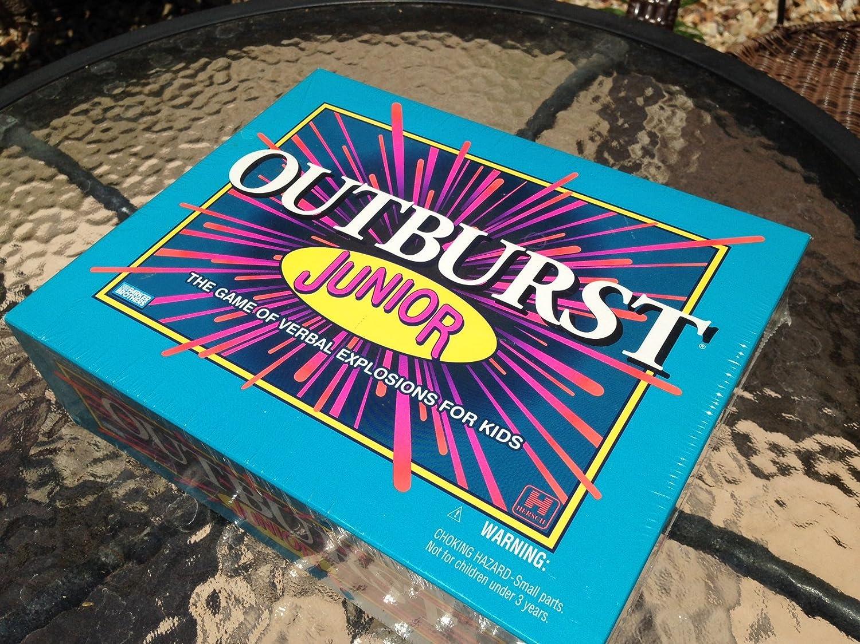 Outburst Jr The Bargain sale Game of online shop Verbal for 2001 Kids Explosions