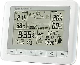 Bresser TemeoTrend WF Draadloos weerstation met binnen-/buitentemperatuur en luchtvochtigheid, 6 uur weersvoorspelling, ma...