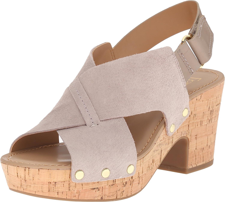Franco Sarto Womens Kicks Platform Sandal