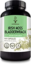 HERBAMAMA Irish Moss & Bladderwrack Capsules - Seaweed Dietary Supplement for Immunity, Thyroid, Digestive & Joint Support...