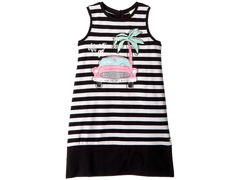 Kate Spade New York Kids Road Trip Dress (Little Kids/Big Kids) (Black/Fresh White) Girl
