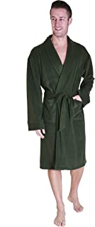 Cherokee Men's Lux Plush Robe