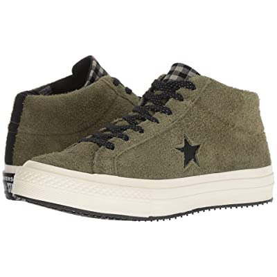 Converse One Star Counter Climate Mid (Field Surplus/Black/Egret) Shoes